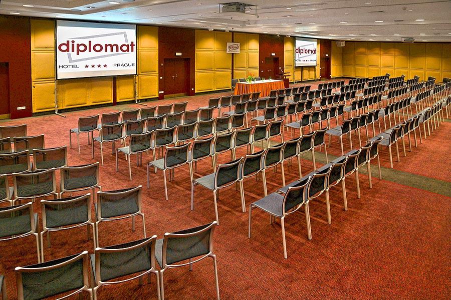 Diplomat Hotel In Prague