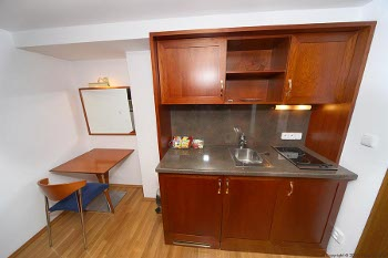 kitchenette of the suite no.11