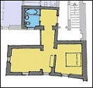 ground plan of the suite no.9