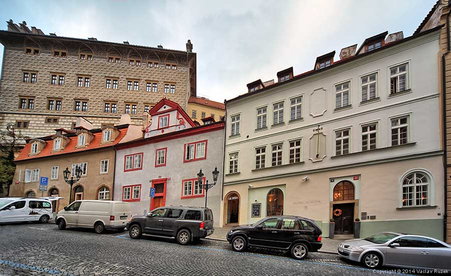 Hotel neruda in prague for 937 design hotel prague
