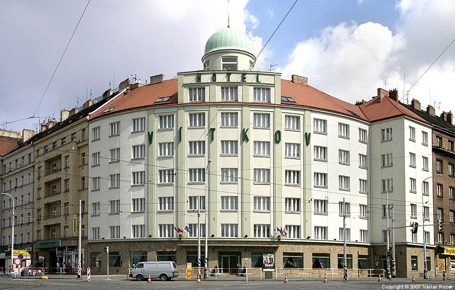 Hotel Vitkov In Prague